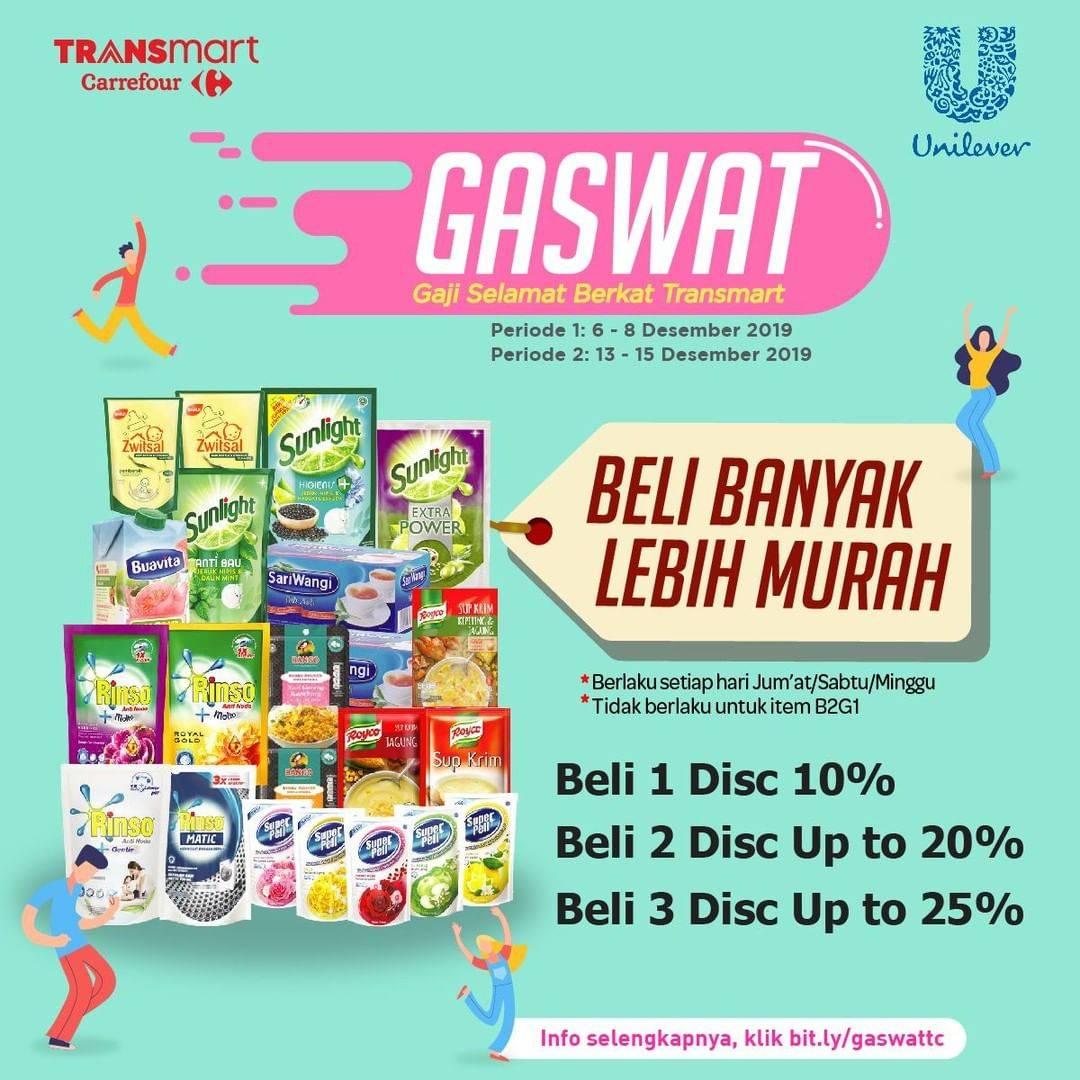 Transmart Carrefour Promo Beli Banyak Lebih Murah, Dapatkan Diskon Hingga 25%