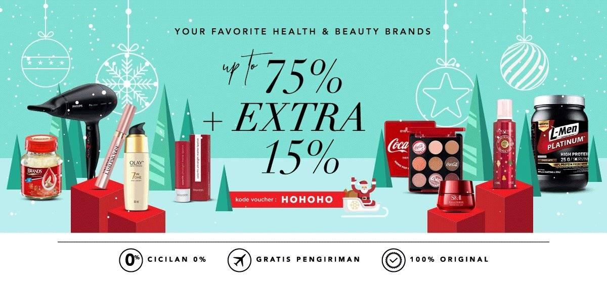 Blibli Promo Your Favourite Brands, Diskon Hingga 75% + Ekstra 15%