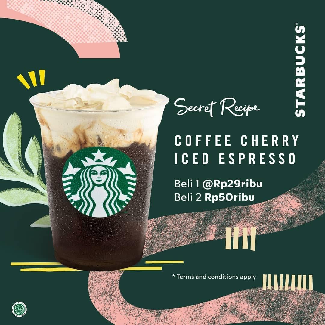 Starbucks Secret Reciepe, Beli 2 Hanya Rp. 50.000