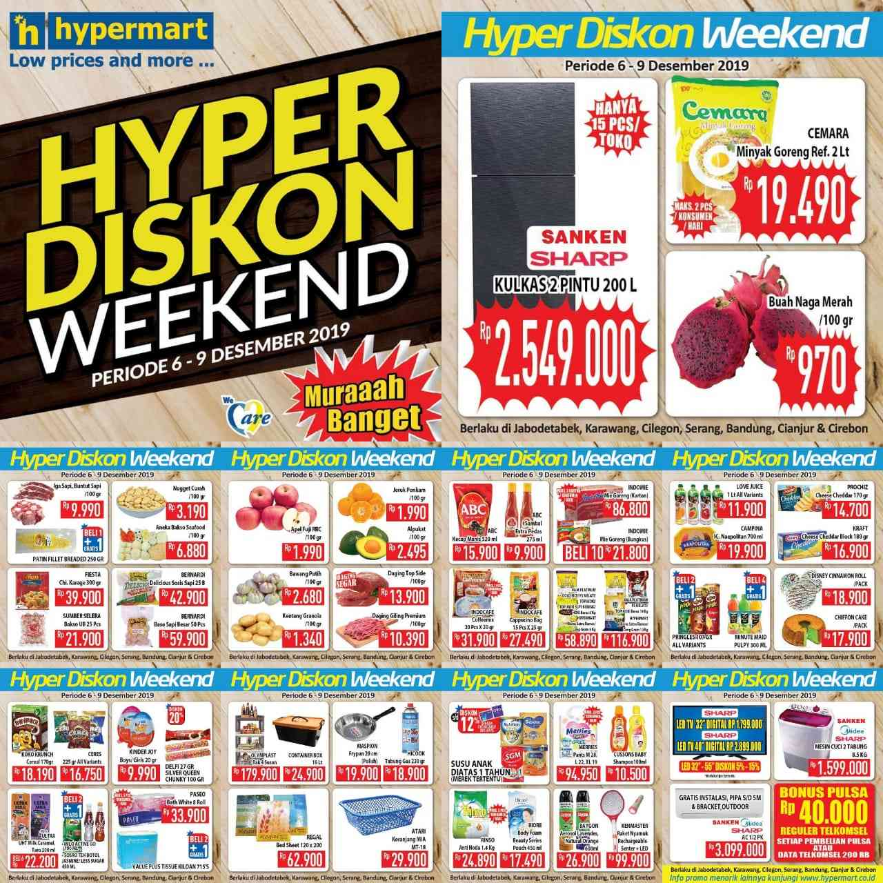Katalog Promo JSM Hypermart Periode 6-9 Desember 2019