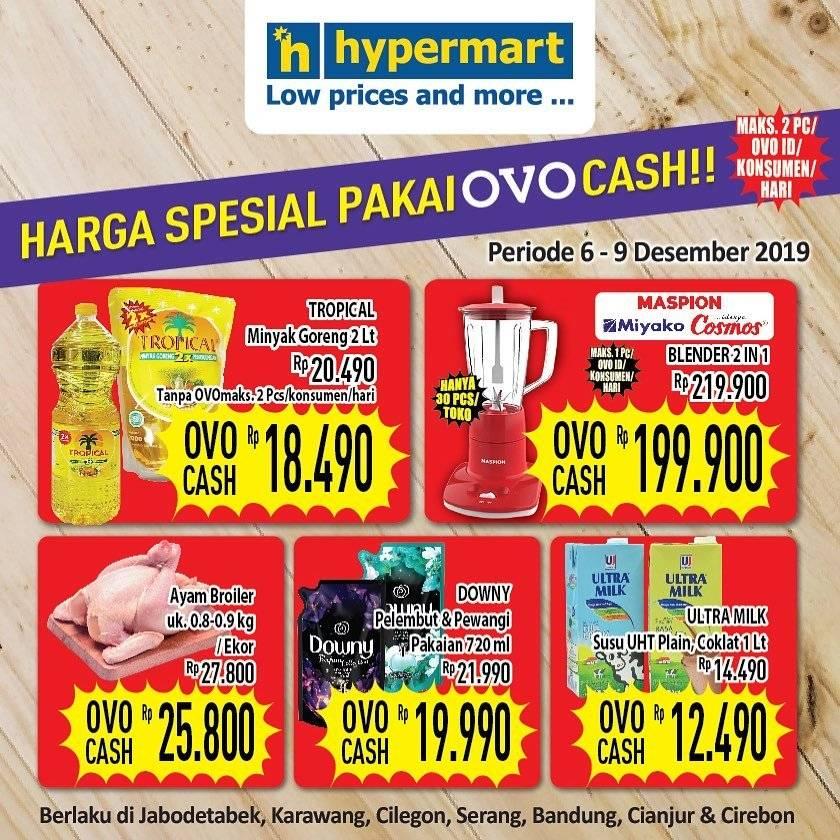 Diskon Katalog Promo JSM Hypermart OVO Periode 6-9 Desember 2019