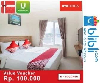 Blibli Promo OYO Rooms E-Voucher Diskon 90% Off!