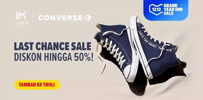 Lazada Promo Converse, Last Chance Sale Hingga 50%