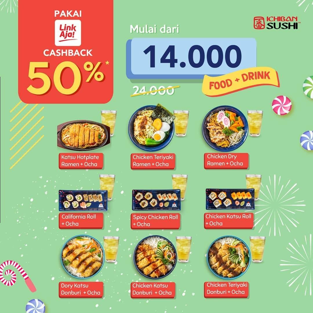 Ichiban Sushi Promo Makan Enak Dan Hemat Cuma Rp.14.000