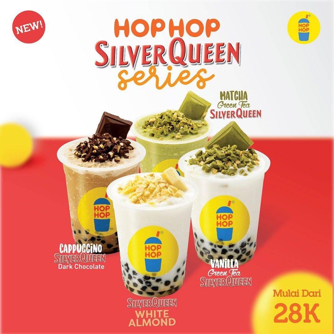 Hop Hop Bubble Drink Promo Menu Baru Silverqueen Series, Harga Mulai Rp. 28 Ribuan!