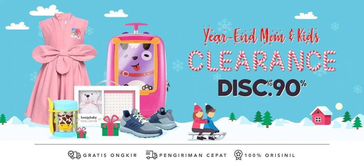 Blibli Promo Year End Clearance Sale, Diskon Hingga 90%