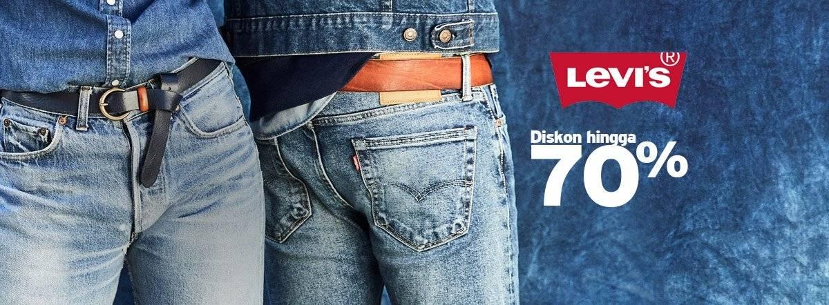 Blibli Promo Levi's, Diskon Hingga 70%