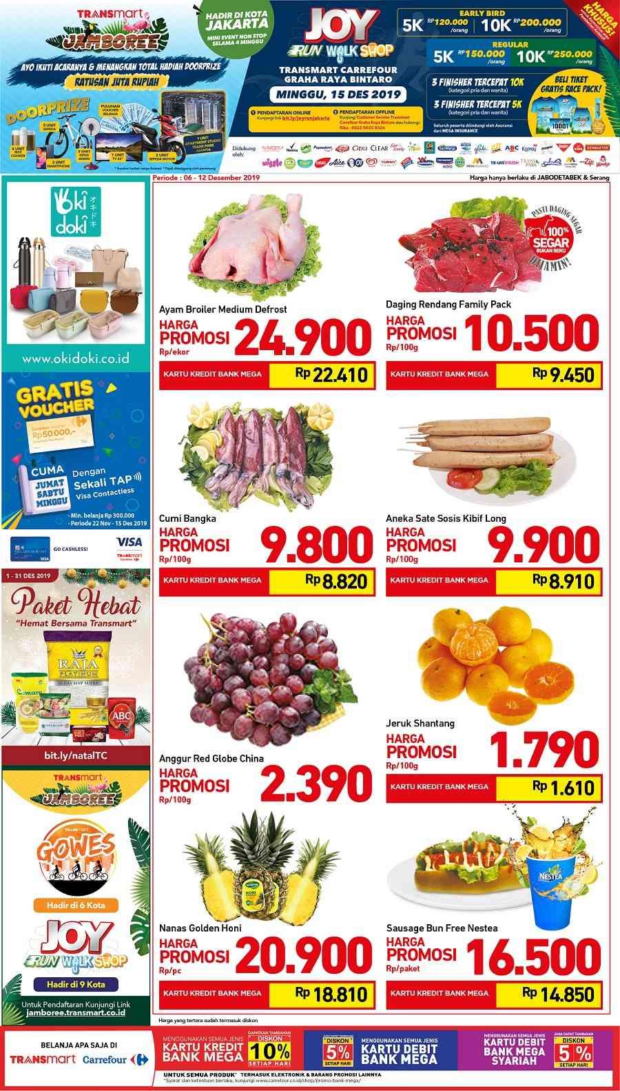 Promo Carrefour Katalog Promo Hebat Sepekan Fresh Periode 6-12 Desember 2019