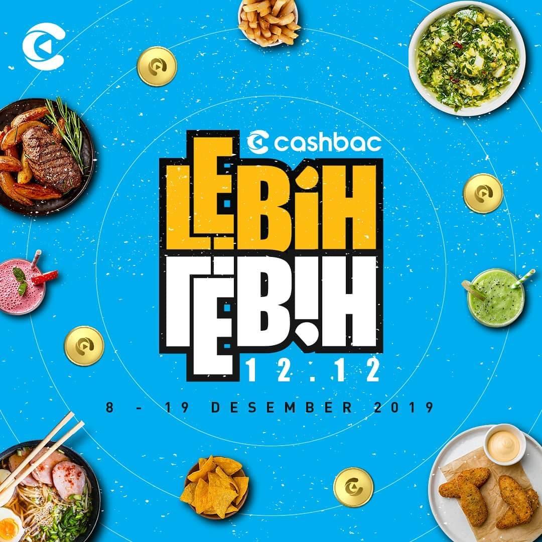 Cashbac App Promo Cashbac Lebih-Lebih 12.12