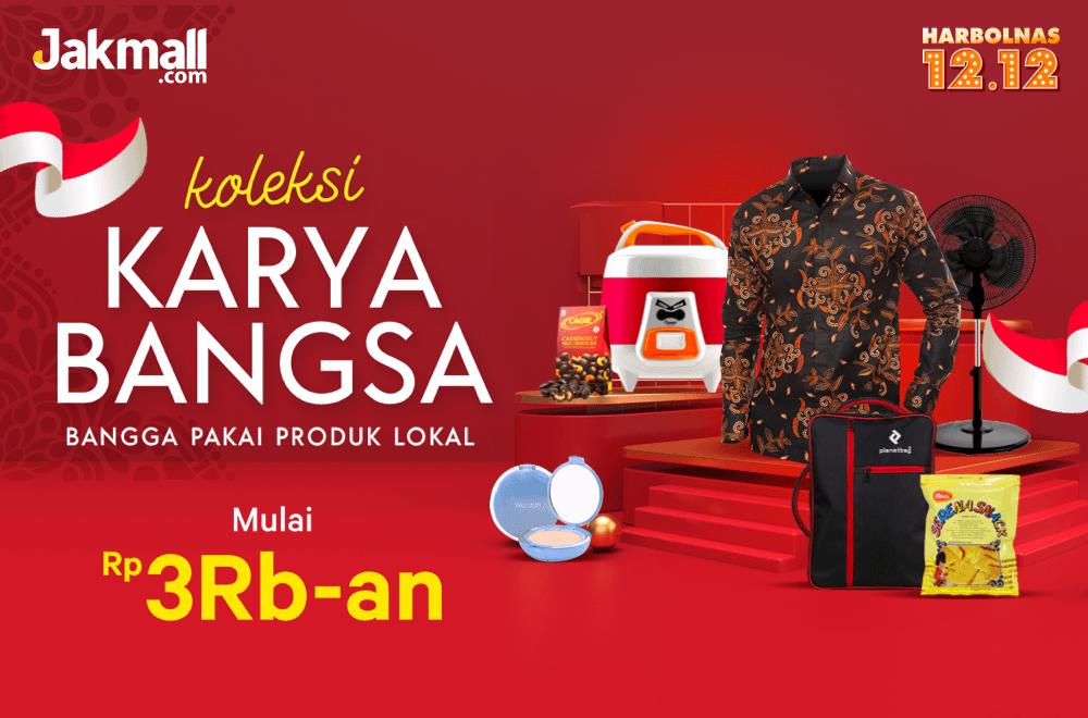 Jakmall Promo Harbolnas 2019, Koleksi Karya Bangsa Mulai Dari Rp. 3 Ribuan!