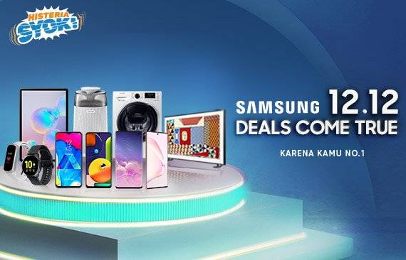 Blibli Promo Samsung Werehouse, Diskon Hingga 50% + Ekstra Diskon 7% Khusus Gadget Samsung!