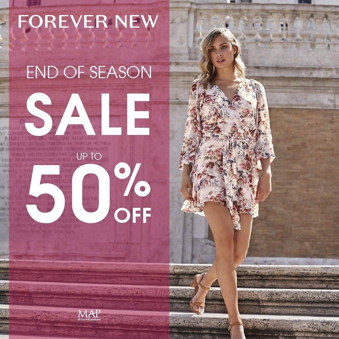 Forever New End Of Season Sale, Diskon Hingga 50%!