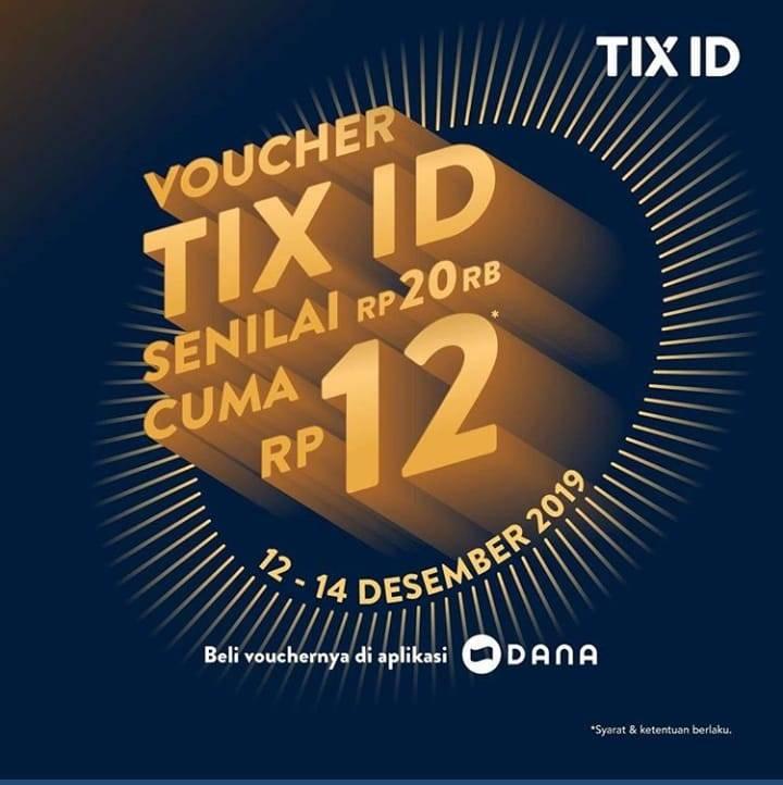 Tix Id Promo Spesial 12.12, Nomat Cuma Rp.12