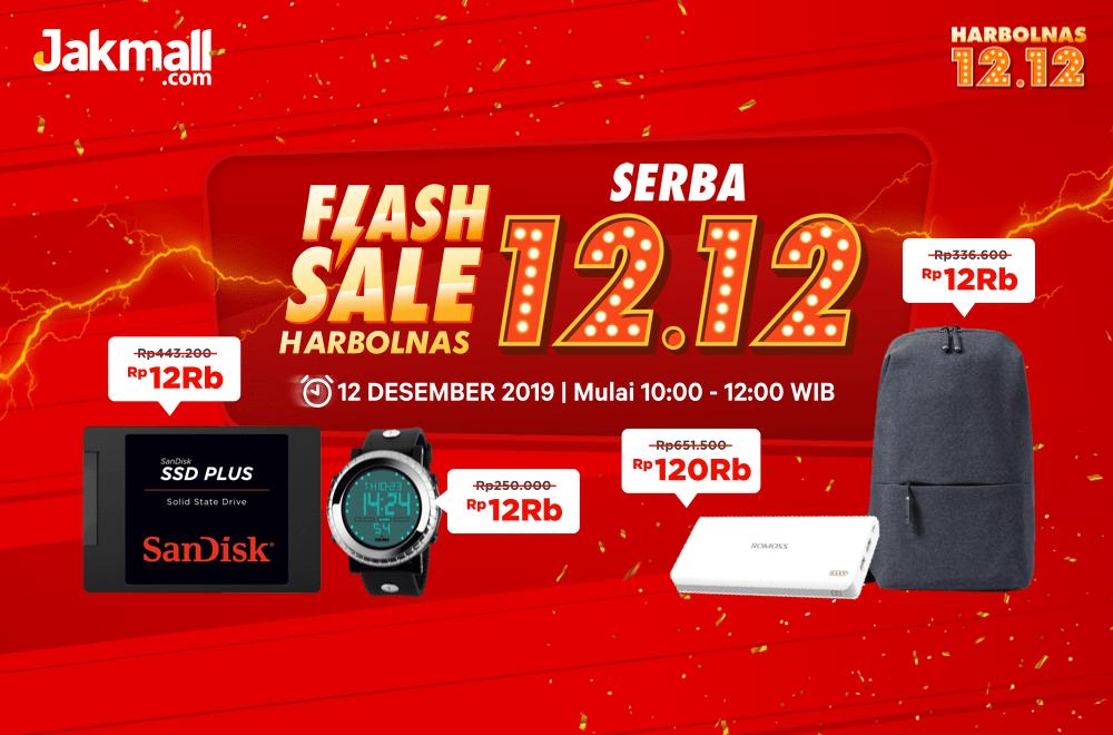 Jakmall Flash Sale Harbolnas 2019, Serba Rp.12.000 Dan Rp.120.000