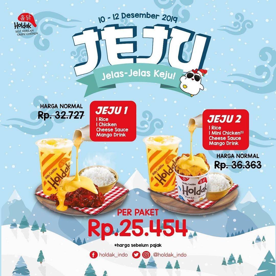 Holdak Promo Paket Jeju, Jelas Jelas Keju Harga Mulai Rp. 25.454