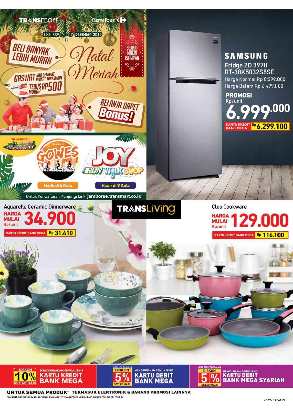 Katalog Carrefour Terbaru Untuk Periode 4-17 Desember 2019