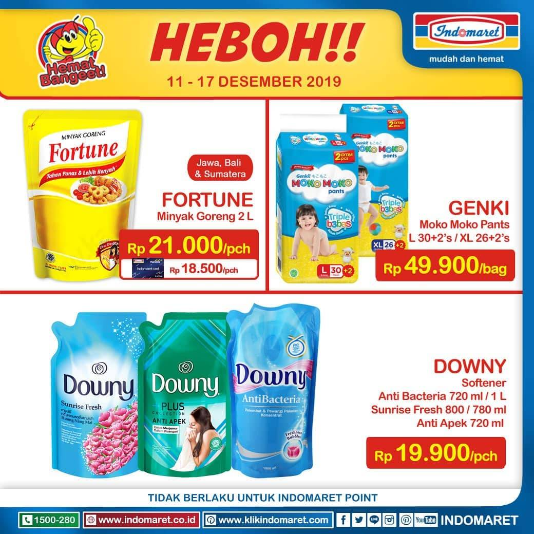 Diskon Indomaret Promo Harga Heboh Periode 11-17 Desember 2019