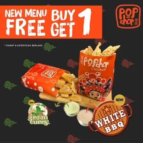 Pop Chop Chicken Promo New Menu Buy 1 Get 1