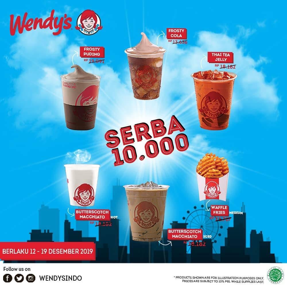 Wendys Promo Spesial 12.12, Makan Enak Hanya Rp. 10.000!