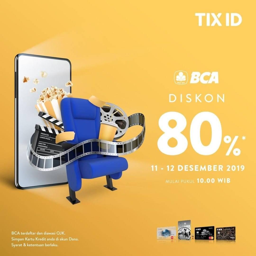 Tix Id Promo Spesial Nomat 12.12, Diskon 80%!