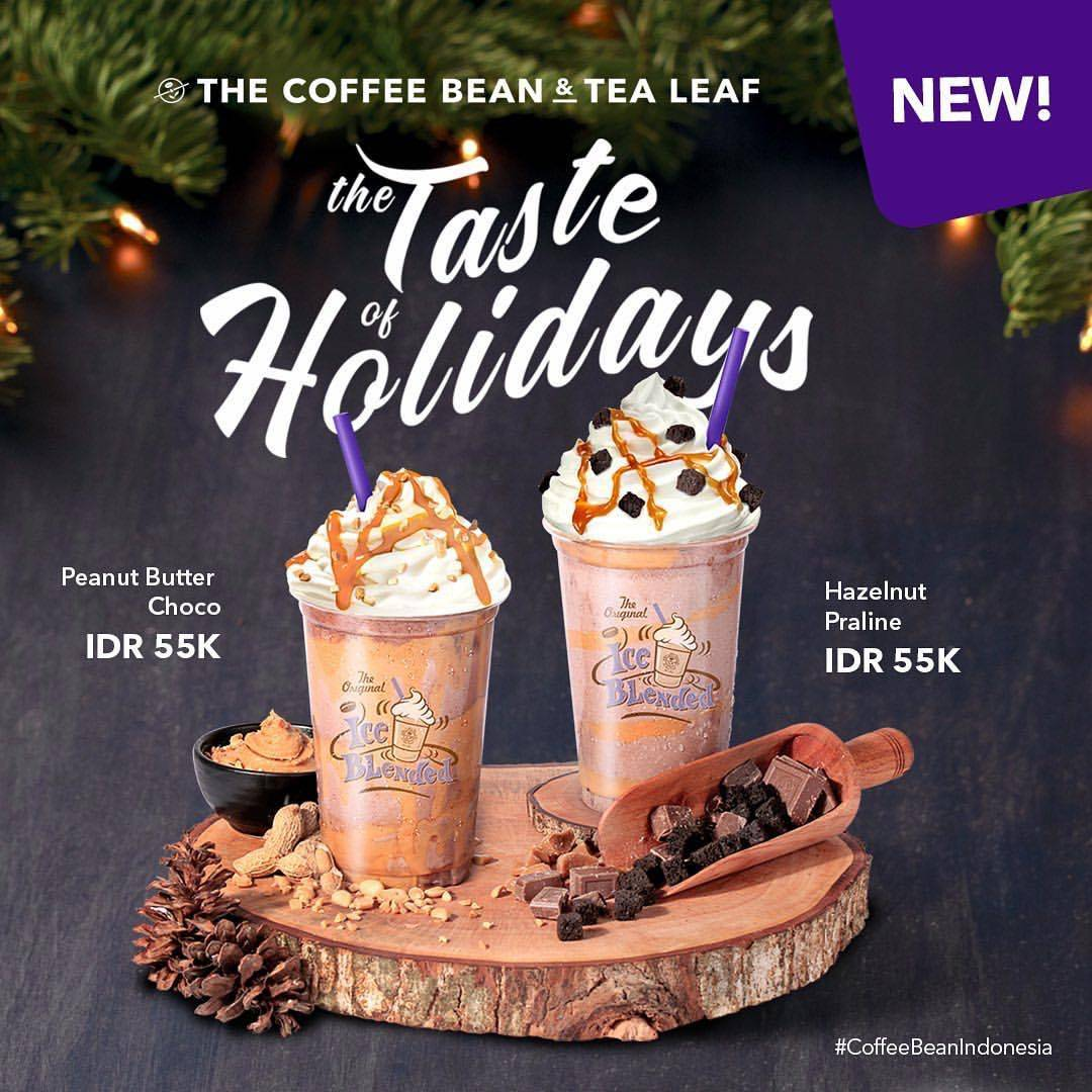 The Coffee Bean & Tea Leaf Promo The Taste Of Holiday, Harga Rp. 55.000!