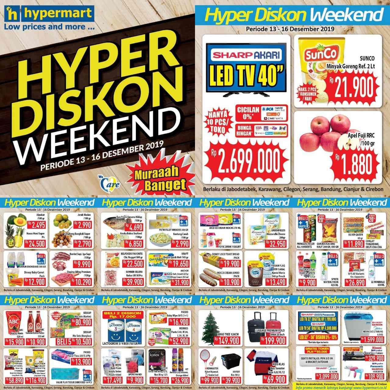 Katalog Promo JSM Hypermart Ovo Periode 13-16 Desember 2019