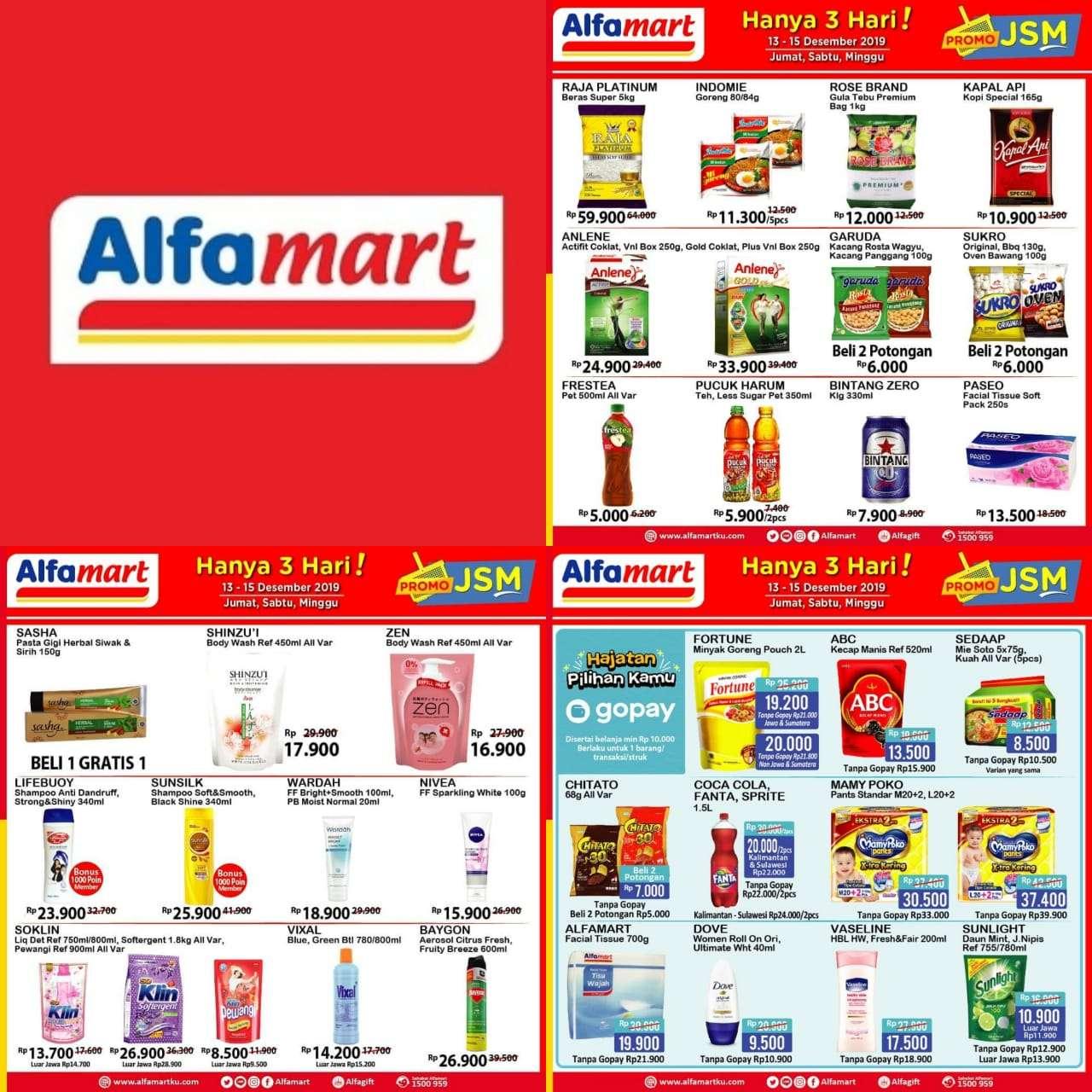 Katalog Promo JSM Alfamart Periode 13-15 Desember 2019