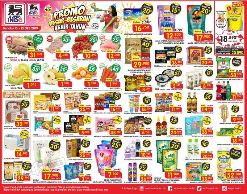 Katalog Promo JSM Superindo Supermarket Periode 13-15 Desember 2019