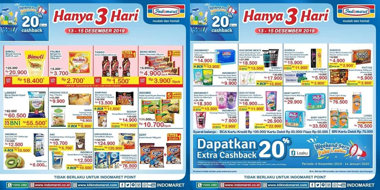 Katalog Promo JSM Indomaret Periode 13-15 Desember 2019