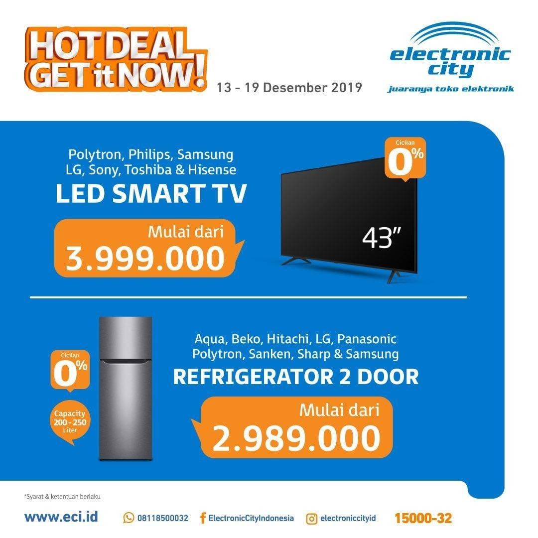 Diskon Electronic City Promo Mingguan, Hot Deal Periode 13-19 Desember 2019