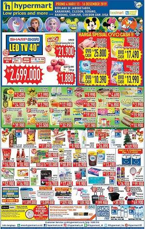 Promo Hypermart Katalog Weekend Periode 13-16 Desember 2019