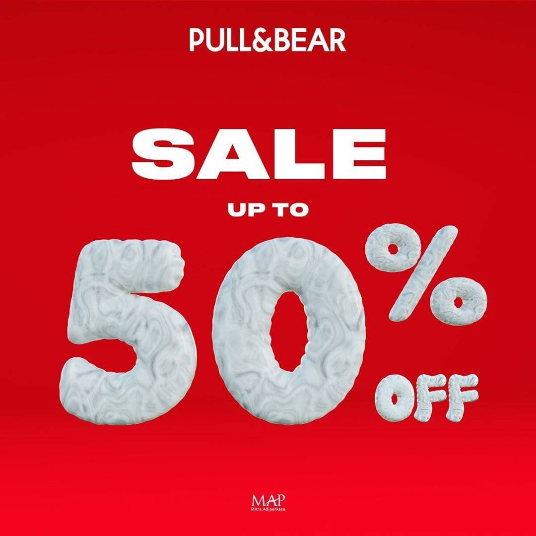 Pull & Bear Promo Year End Big Sale, Diskon Hingga 50%