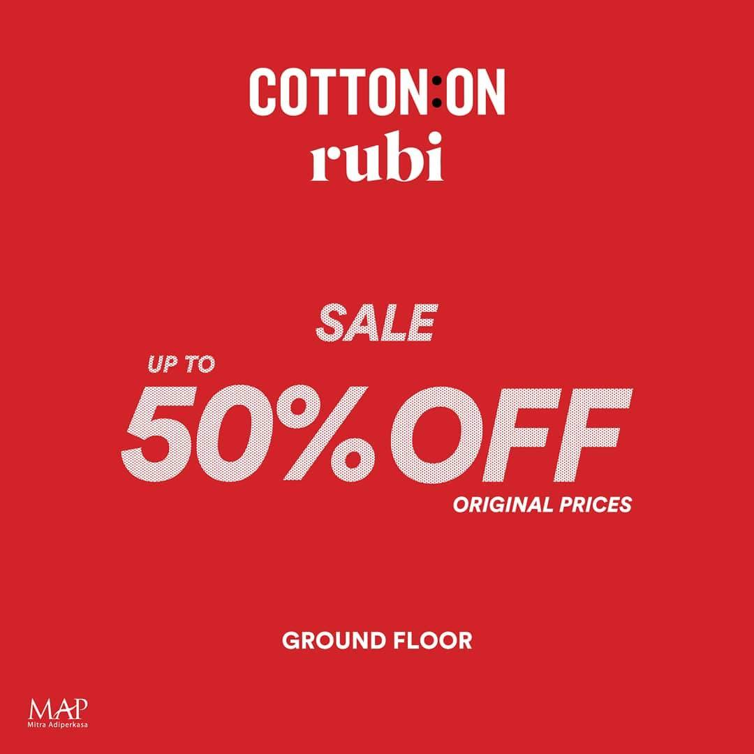 Cotton On Year End Big Sale, Diskon Hingga 50%!