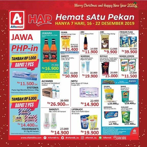 Promo Alfamidi Hemat Satu Pekan Periode 16-22 Desember 2019