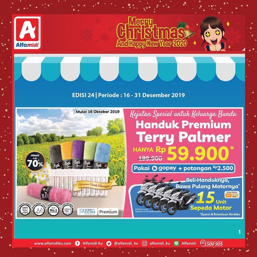 Katalog Alfamidi Promo Mingguan Periode 16-31 Desember 2019