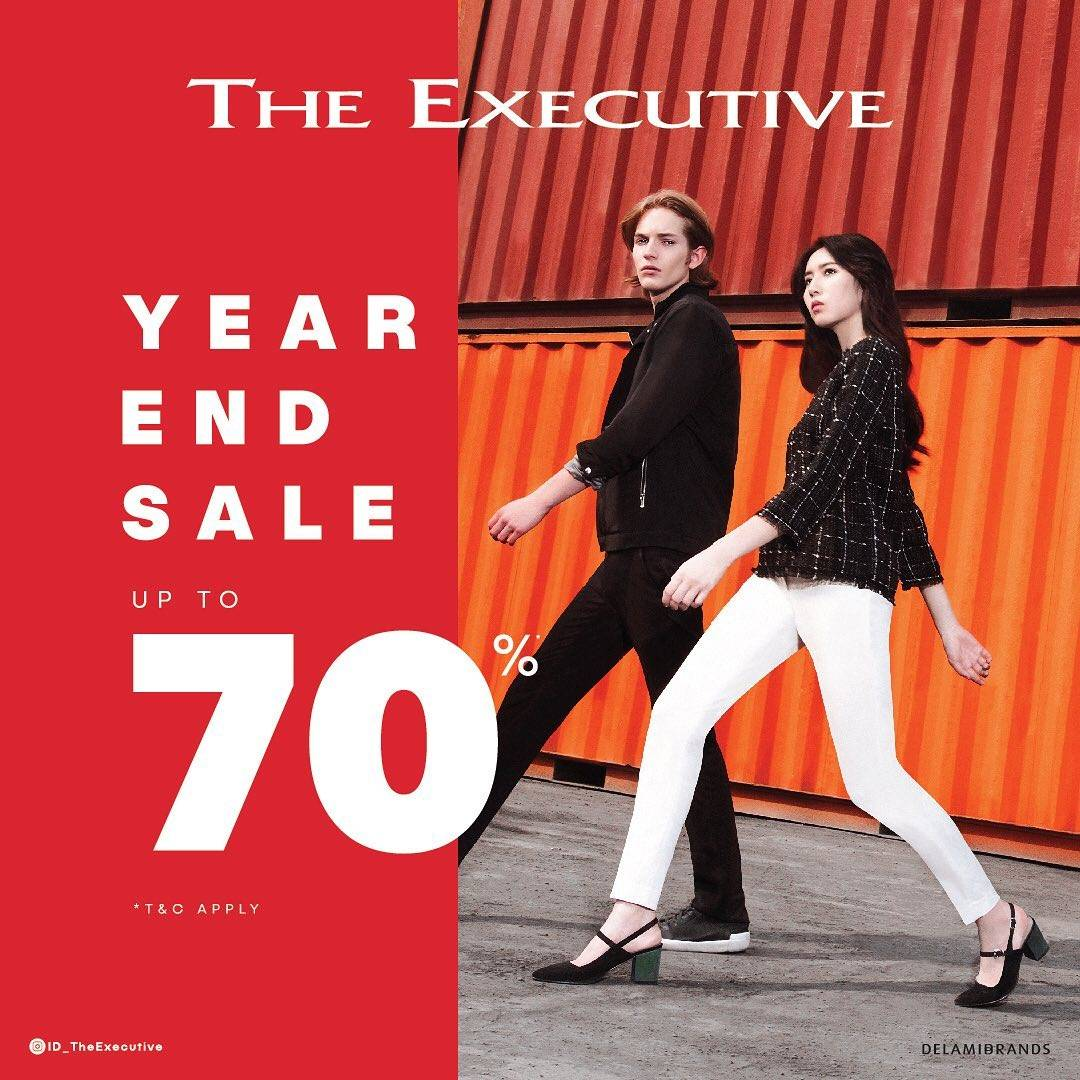 The Executive Year End Sale Discount Up To 70%