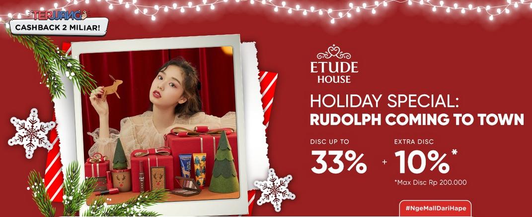iLotte Promo Etude House Diskon Hingga 33% + Extra Diskon Hingga 10%