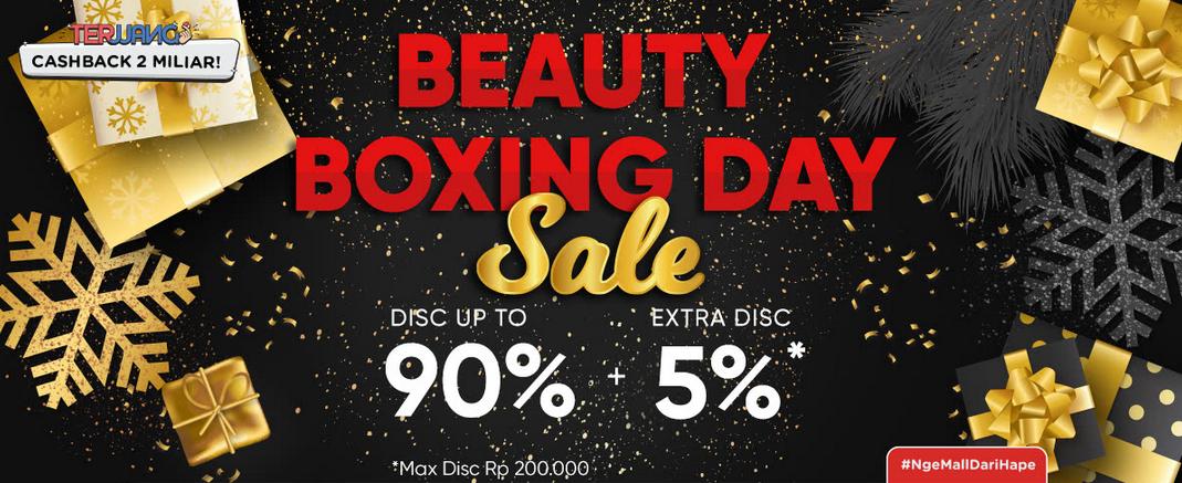 iLotte Promo Beauty Boxing Day Diskon Hingga 90% + Ekstra Diskon 5%