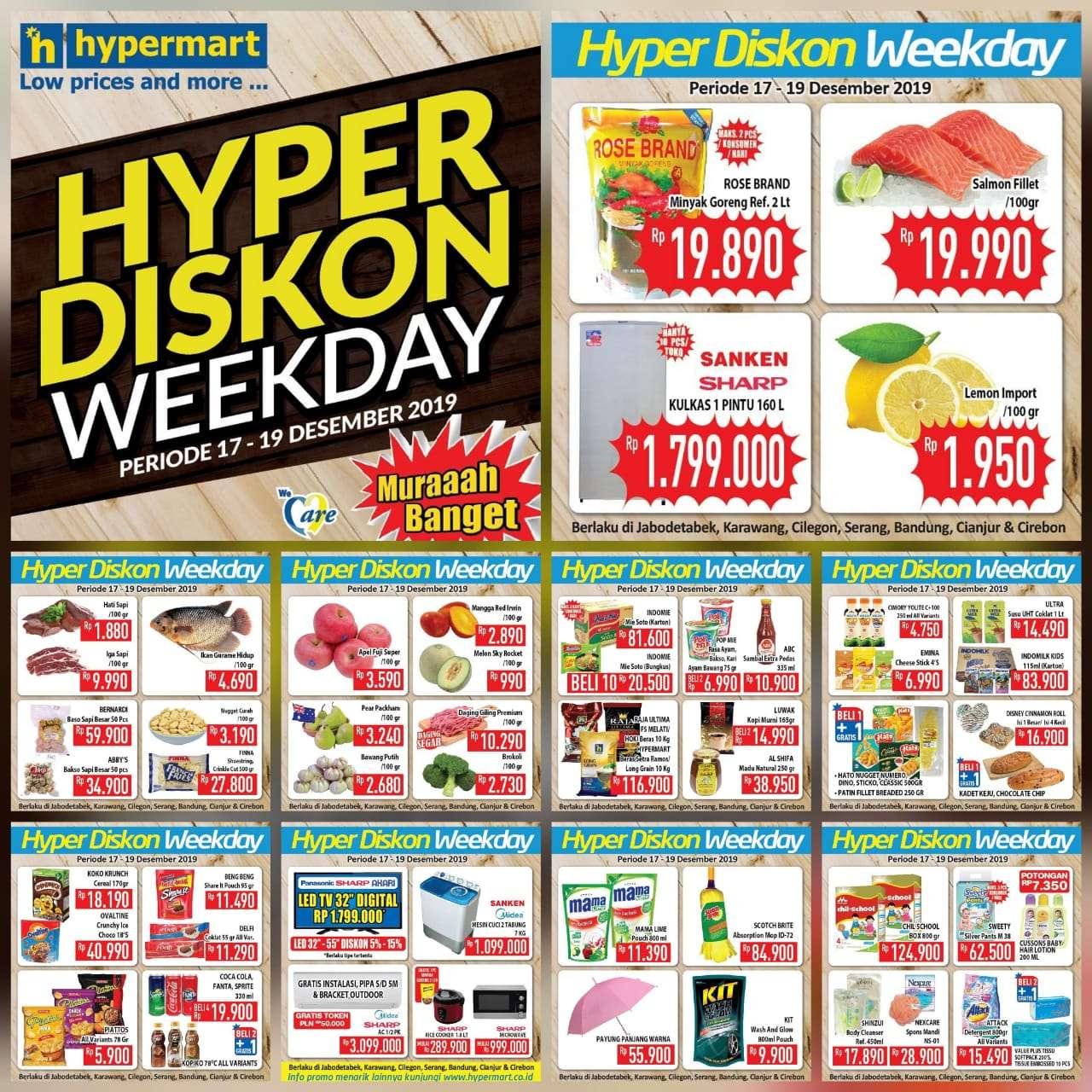 Katalog Promo Hyper Diskon Hypermart Periode 17-19 Desember 2019