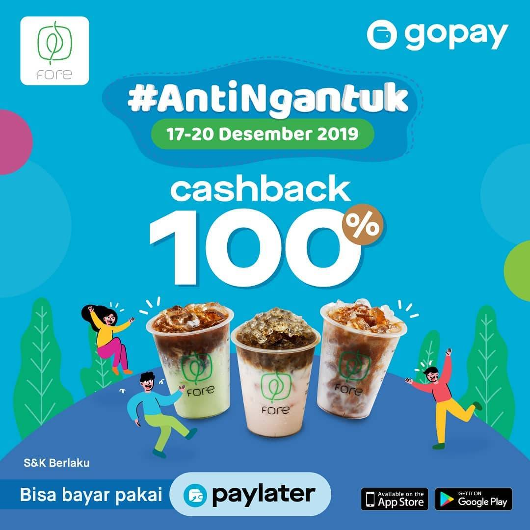 Fore Coffee Promo Spesial Cashback 100% Dengan Gopay!