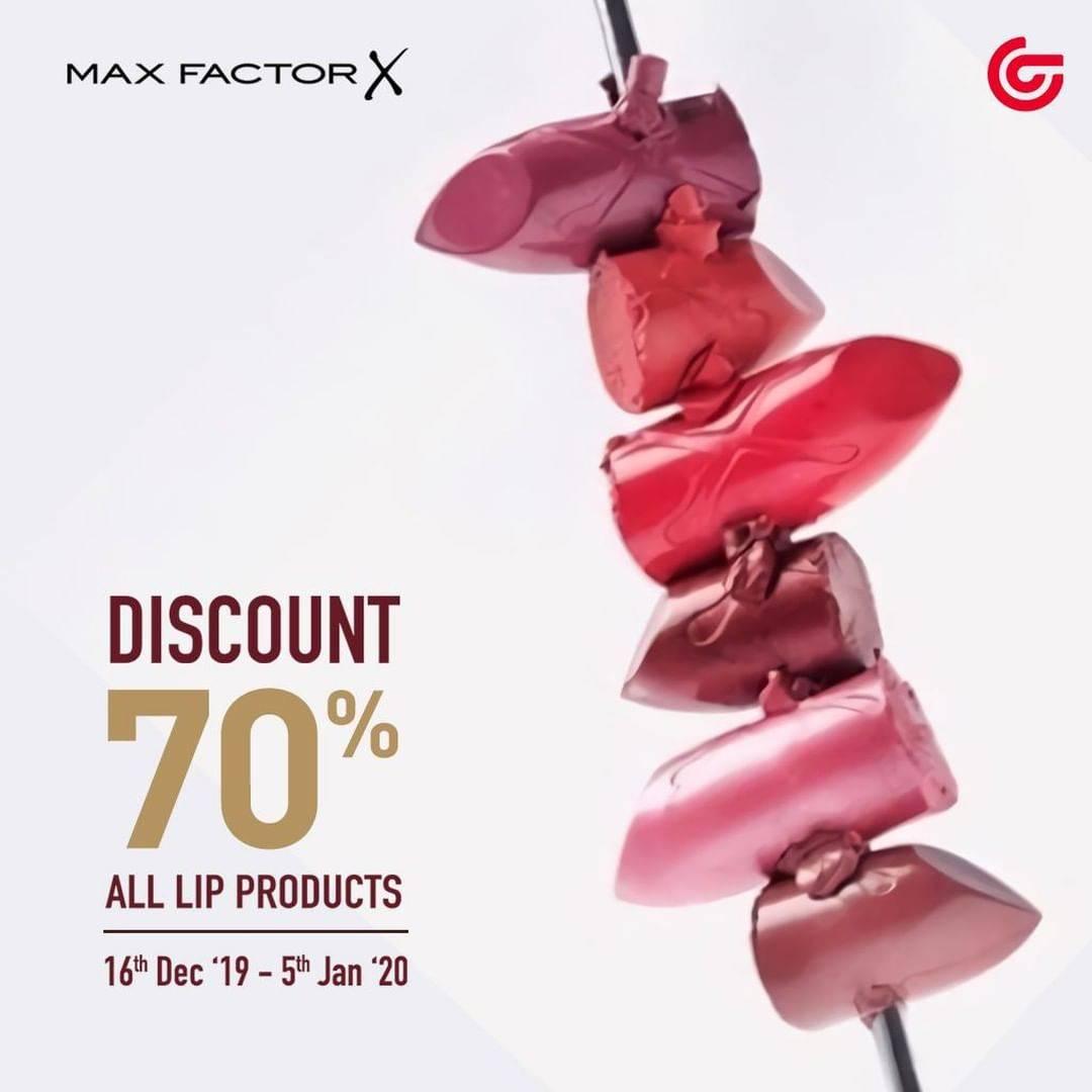 Matahari Diskon Lipstik Maxfactor Sampai 70%