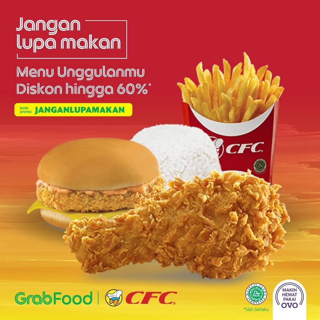 CFC Promo GrabFood JANGANLUPAMAKAN