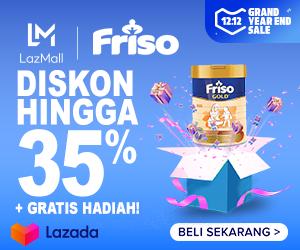 Lazada Promo Susu Formula Friso Diskon Hingga 35%!