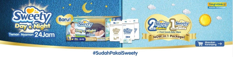 Lazada Promo Diaper Bayi Sweety, Diskon Hingga 32%!