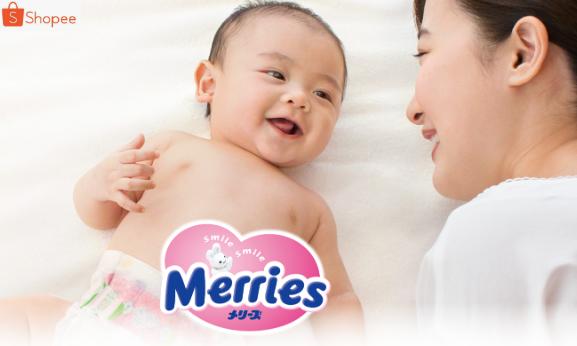 Shopee Promo Diaper Bayi Merries Diskon Hingga 25%!