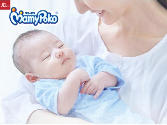 JD.ID Promo Mamypoko Baby Diaper Diskon Hingga 50%!