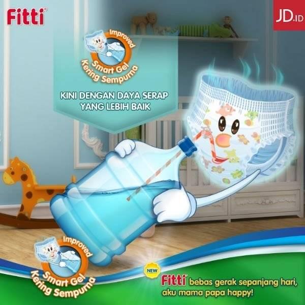 JD.ID Promo Fitti Baby Diaper Diskon Hingga 63%!