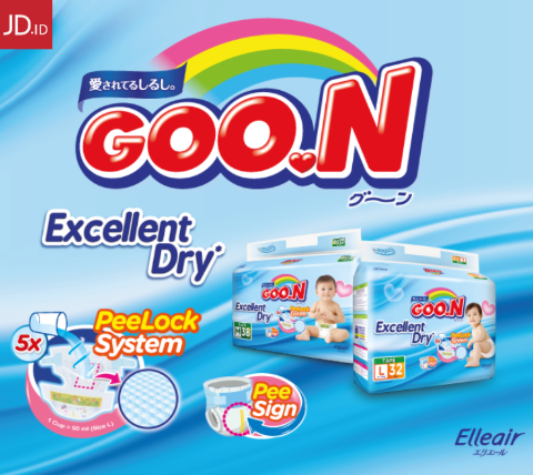 JD.ID Promo Goon Baby Diaper Diskon Hingga 54% + Hadiah Eksklusif!