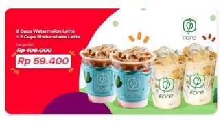 Fore Coffee Promo 4 Minuman Mulai Dari Rp. 59.000 di GoFood