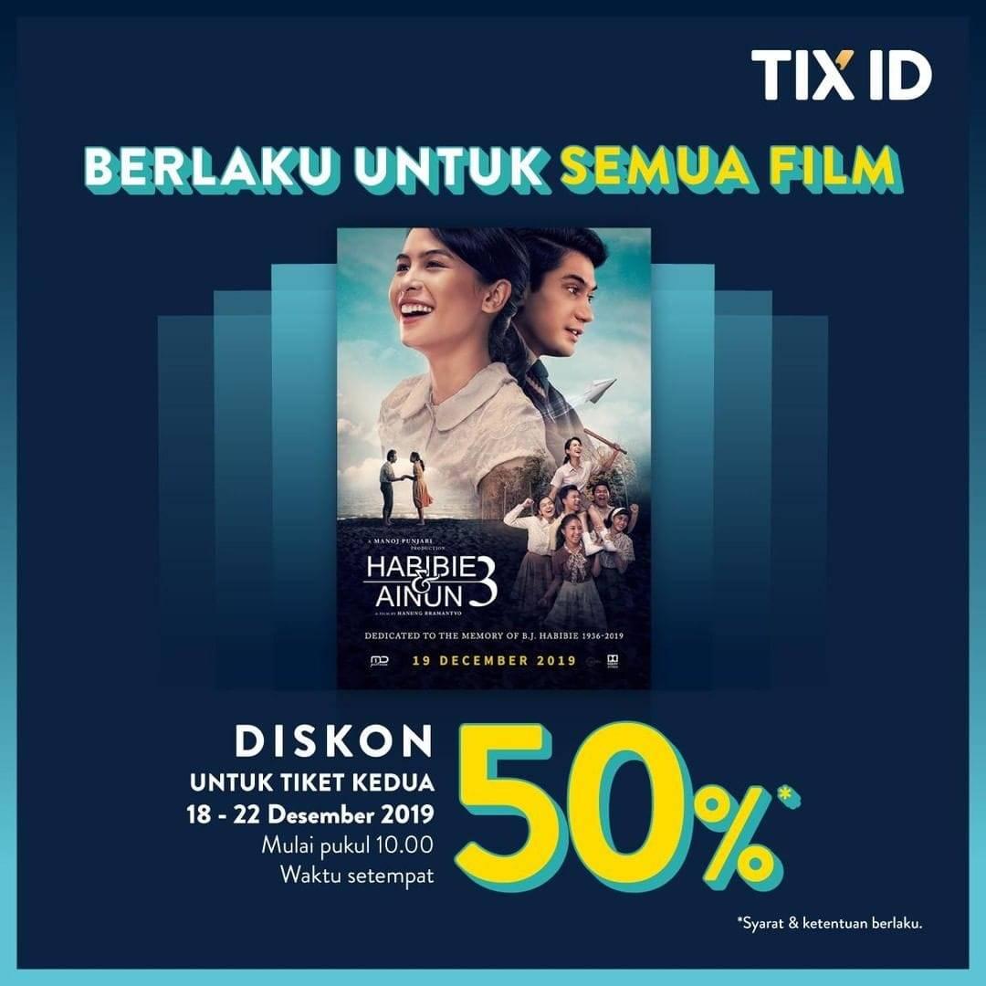Tix Id Promo Nomat Weekend, Diskon Langsung 50%!